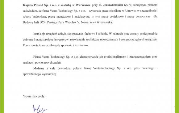 KAJIMA POLAND sp. z o.o.